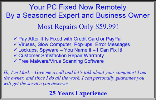 Online Virus Removal Service